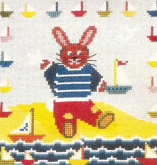Renkli Örgü Bebek Kazağı-Motifi Bebek-kirmizi-yelek-motif